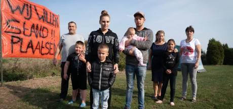 Woonwagenkampbewoners willen ruimte voor hun kinderen