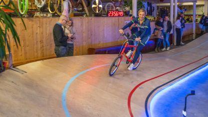 Goedele Wachters fietst eerste rondjes '24-uren van de Cimorné'
