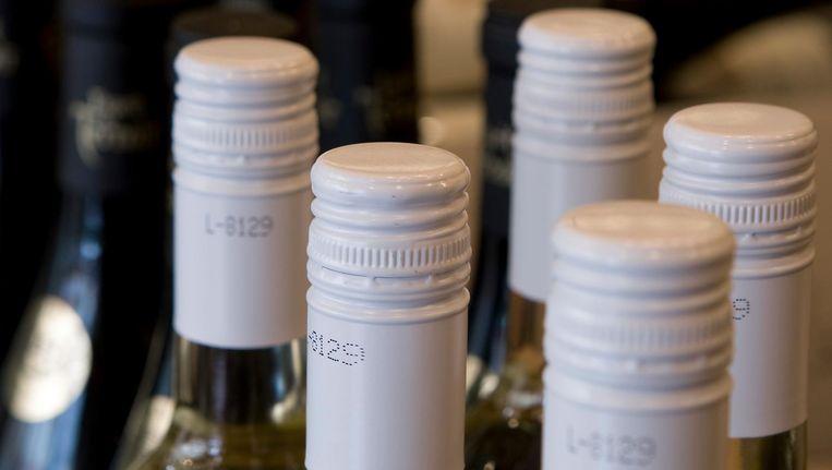 Wijn met een schroefdop. Beeld anp