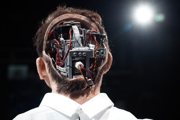Uncanny Valley, robots in het theater. Beeld Gabriela Neeb