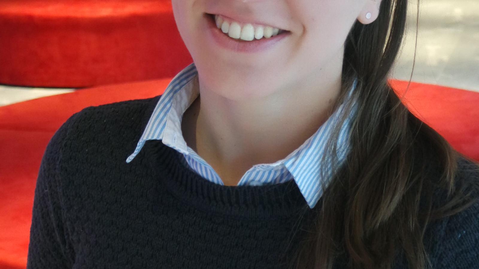 Lobke van der Sanden, theaterprogrammeur voor project Theater van de Stad.