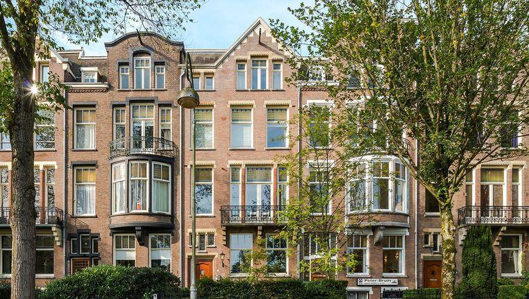 Het duurste (nu nog) te koop staande woonhuis staat op het Valeriusplein. Beeld Funda