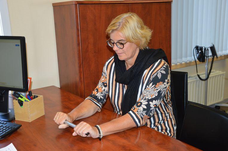 Burgemeester Tania De Jonge trapt de campagne voor de 'Week van het hart' af door zichzelf te laten screenen.