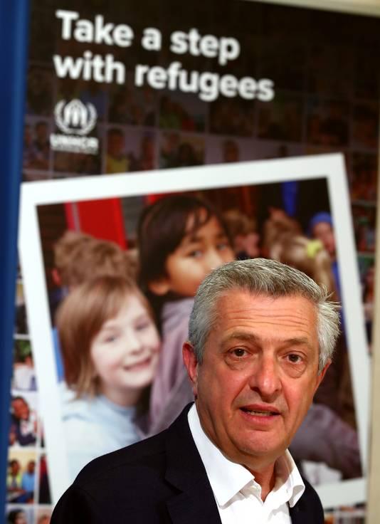 Filippo Grandi, de Hoge Commissaris voor de Vluchtelingen van de Verenigde Naties.