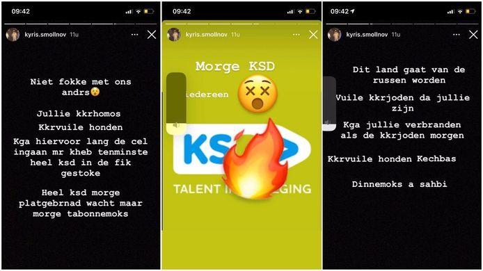 De dreigementen op Instagram om school KSD in Diest in brand te steken.