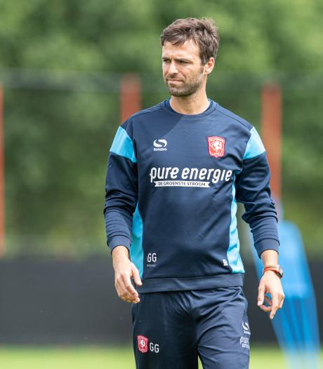 Gonzalo Garcia Garcia weet al heel goed waar hij heen wil met FC Twente