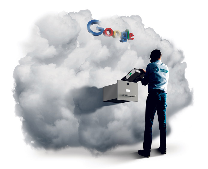 Medische gegevens in de Google Cloud; ook uw medische data liggen nu bij Google.