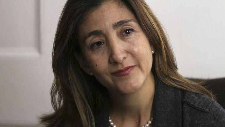 Voormalig FARC-gijzelaar Ingrid Betancourt. Beeld null