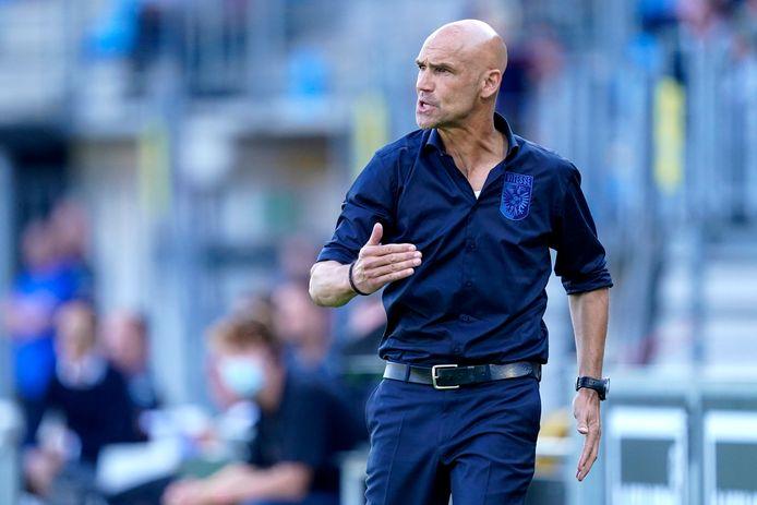 Coach Thomas Letsch van Vitesse.