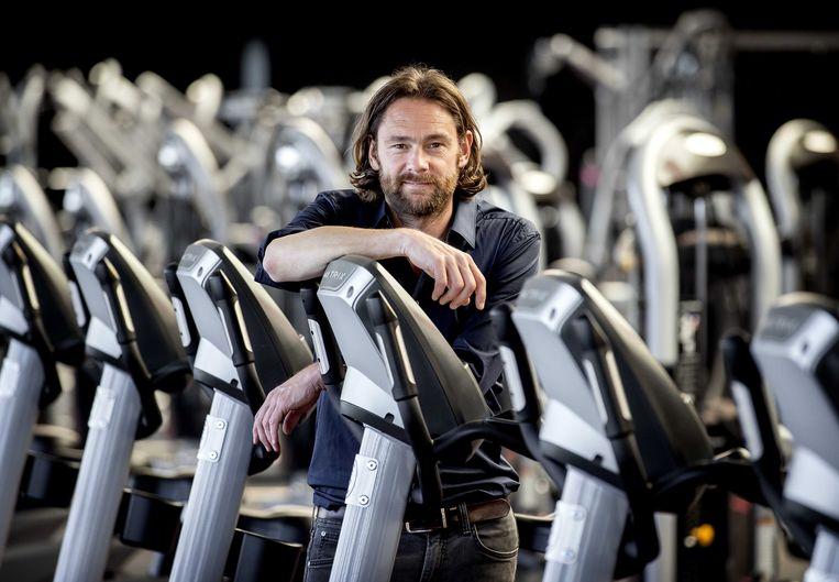 Jasper Otting, directeur van BigGym. De fitnessketen stapt naar de rechter om een einde te maken aan de gedwongen sluiting van sportscholen vanwege het coronavirus.  Beeld ANP