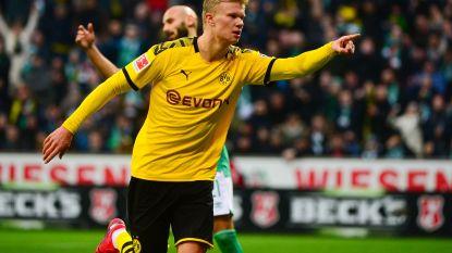 Haaland laat de netten opnieuw trillen, Dortmund weer naar de tweede plaats
