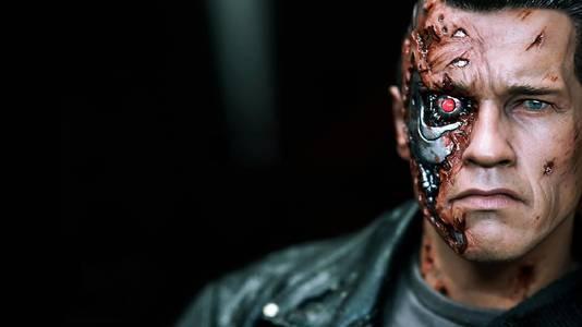 Arnold Schwarzenegger was in de film Terminator 2: Judgment Day zelf een 'killer robot'