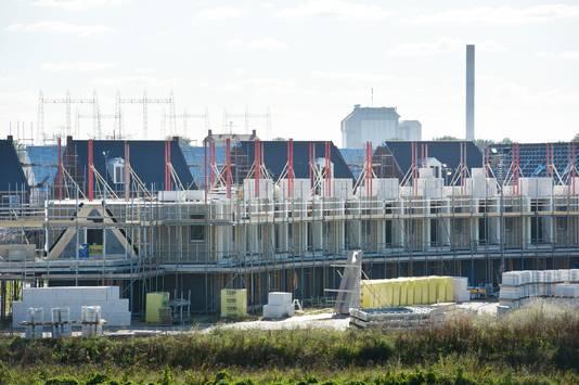Waalsprong: nieuwbouw in de Grote Boel bij de Griftdijk.