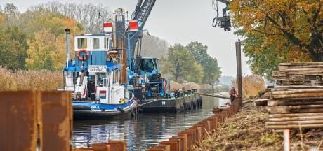 Nieuw beton tegen instorten oevers Zuid-Willemsvaart