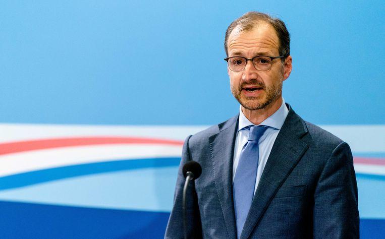 Ministers Eric Wiebes (Economische Zaken).  Beeld ANP