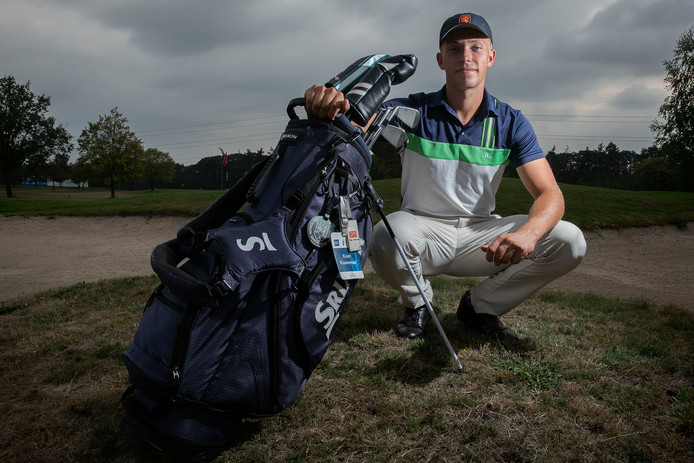 Golfer Koen Kouwenaar.