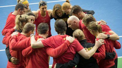 België treft Spanje in strijd om behoud in Wereldgroep