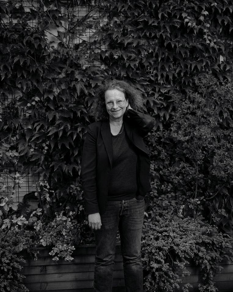 Xandra Schutte, hoofdredacteur van De Groene Amsterdammer. Beeld Erik Smits