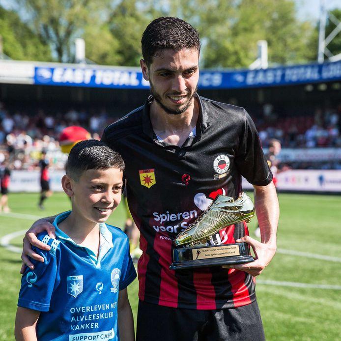 Hicham Faik nam afscheid als speler van het seizoen.