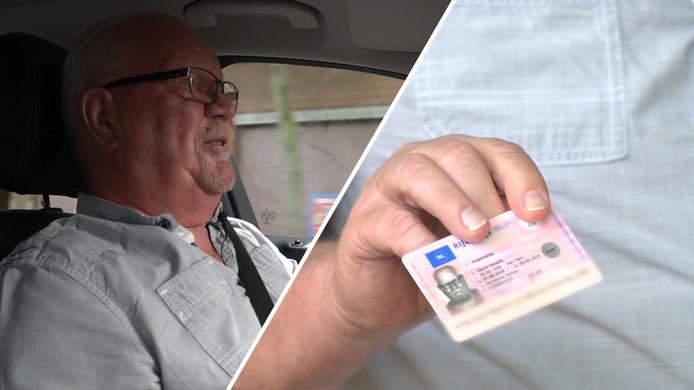 Henk Hogenkamp uit Dalfsen heeft toch zijn rijbewijs