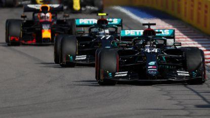 LIVE. Hamilton krijgt tien seconden tijdstraf, kan Max Verstappen profiteren?