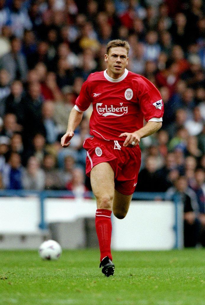 Erik Meijer in actie voor Liverpool.