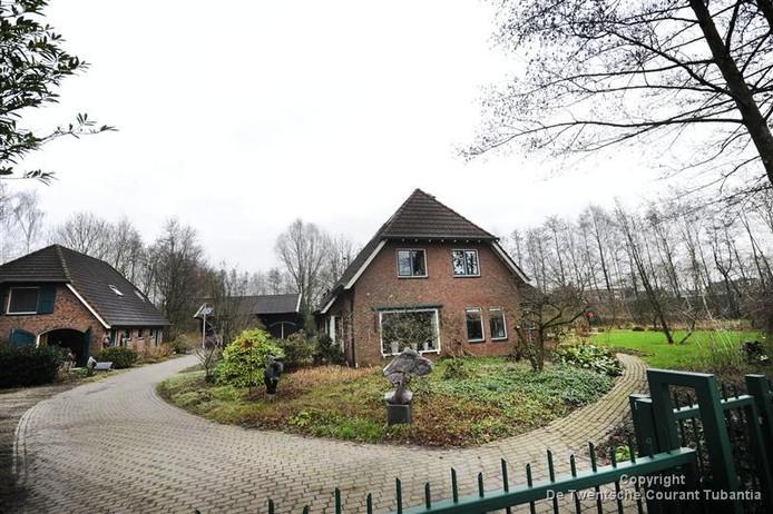 De woning van de familie Katgert aan de Burenweg.