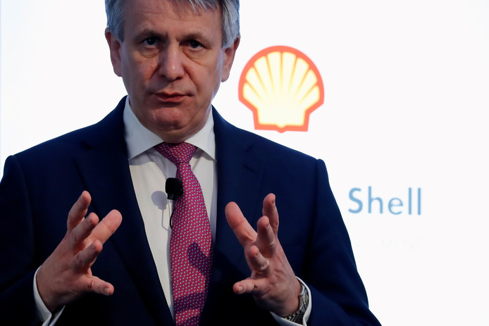 Topman Shell Ben van Beurden.