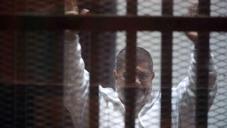Voormalige president van Egypte Mohammed Morsi. Beeld anp