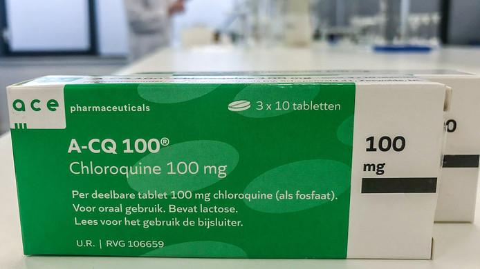 Ace Pharmaceuticals uit Zeewolde produceert het middel chloroquine.