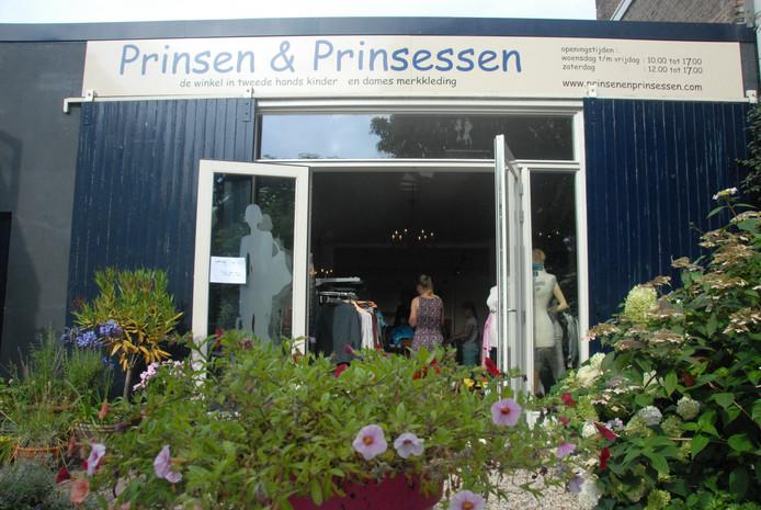 De winkel met tweedehands merkkleding is te vinden in Orthen.