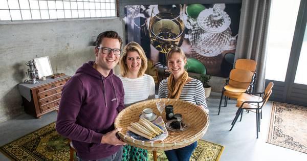 Trio uit Cranendonck weet: 'Thee en asperges gaan prima samen' - Eindhovens Dagblad