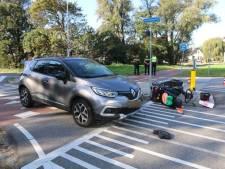 Man gewond na ongeluk tussen scootmobiel en personenauto op Poeldijkseweg