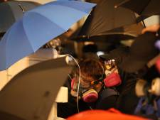 Betogers massaal de straat op in Hongkong