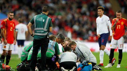 ManU-speler die met draagberrie naar de kant werd gehaald stelt fans gerust, vernieuwd Spanje klopt Engeland wel
