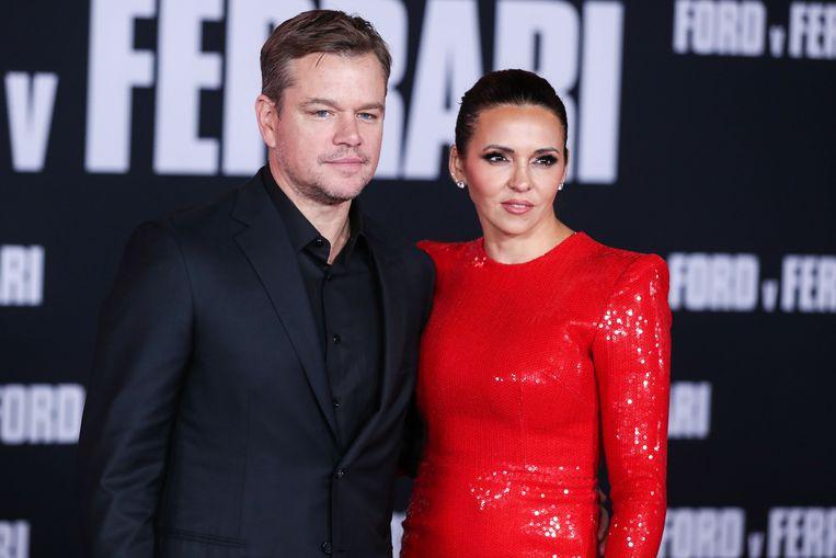 Matt met zijn partner Luciana.