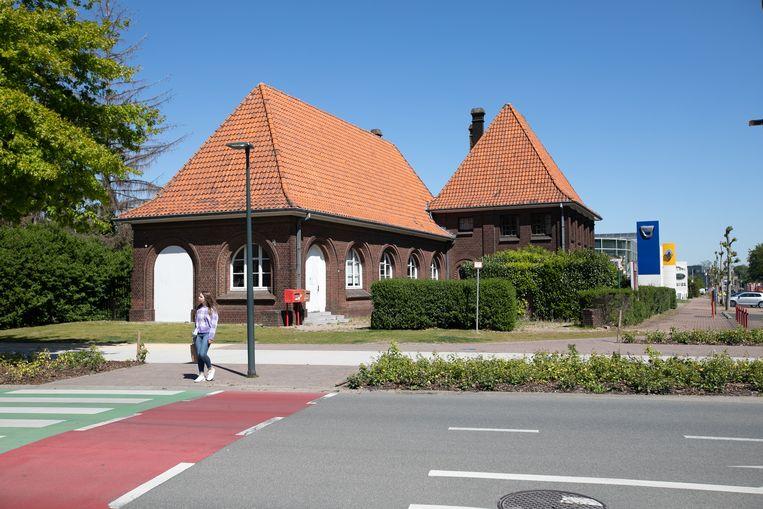 Oud gebouw van de post in Maasmechelen.
