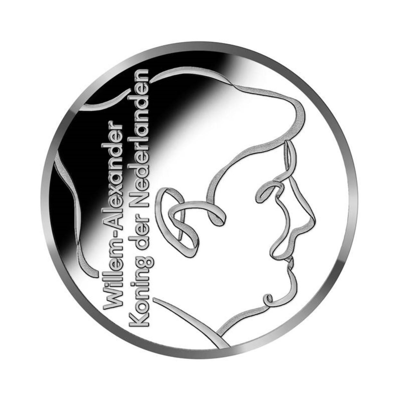 Voorzijde vrijheidsvijfje, 2020, ontwerp Marijke van Warmerdam. Beeld