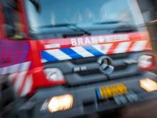 Zoutloods bij Noordwijk gaat in vlammen op