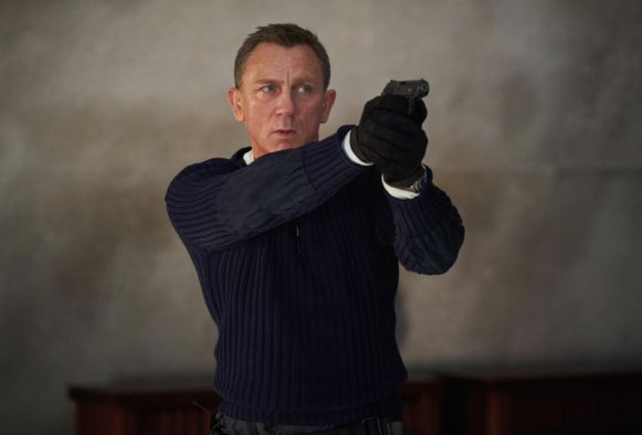 Daniel Craig als James Bond in 'No Time To Die'.