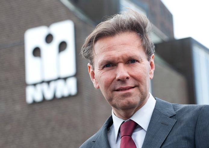 NVM-voorzitter Ger Jaarsma: ,,Makelaars vinden het ook niet leuk dat de markt zo overspannen is.''