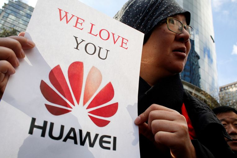 Manifestant in China.