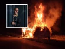 Volkszanger Frank van Etten uit Apeldoorn opgelucht na autobrand: 'Gelukkig is mijn kind ongedeerd'