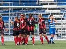 Weer lukt het PEC Zwolle Vrouwen niet: 'We hadden hier gewoon moeten winnen'