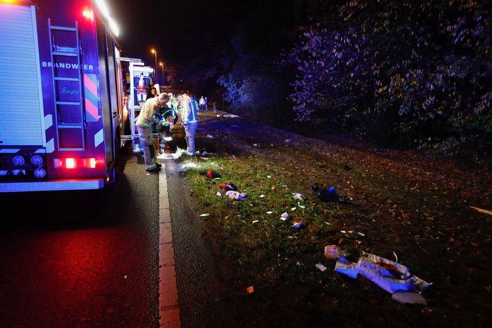 Dodelijke aanrijding in Eindhoven.