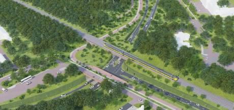Steile fietsbrug bij westelijke rondweg is waardeloos, waarschuwt architect: 'Dit kan écht niet'
