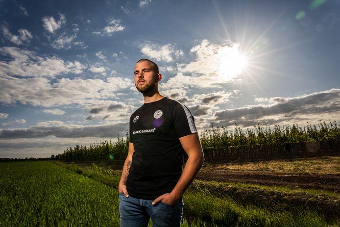 Influencer Rik den Hartog heeft duizenden volgers op TikTok.
