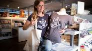Elise ontwerpt T-shirts voor Duffelaars uit 'East Side', 'West Side' en 'The Mijlstreet'