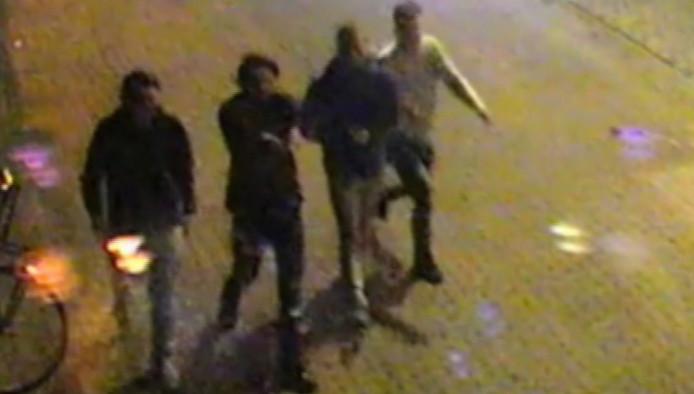 De vier verdachten