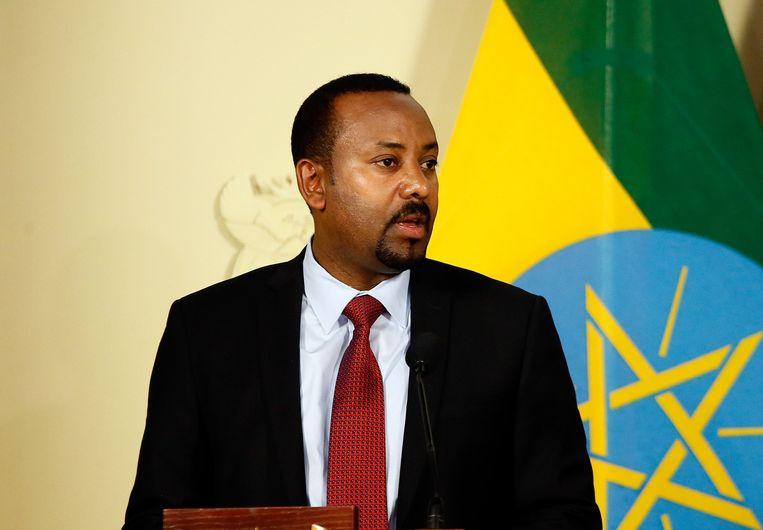 Premier Abiy Ahmed van Ethiopië is zelf een Oromo. Beeld Hollandse Hoogte/AFP